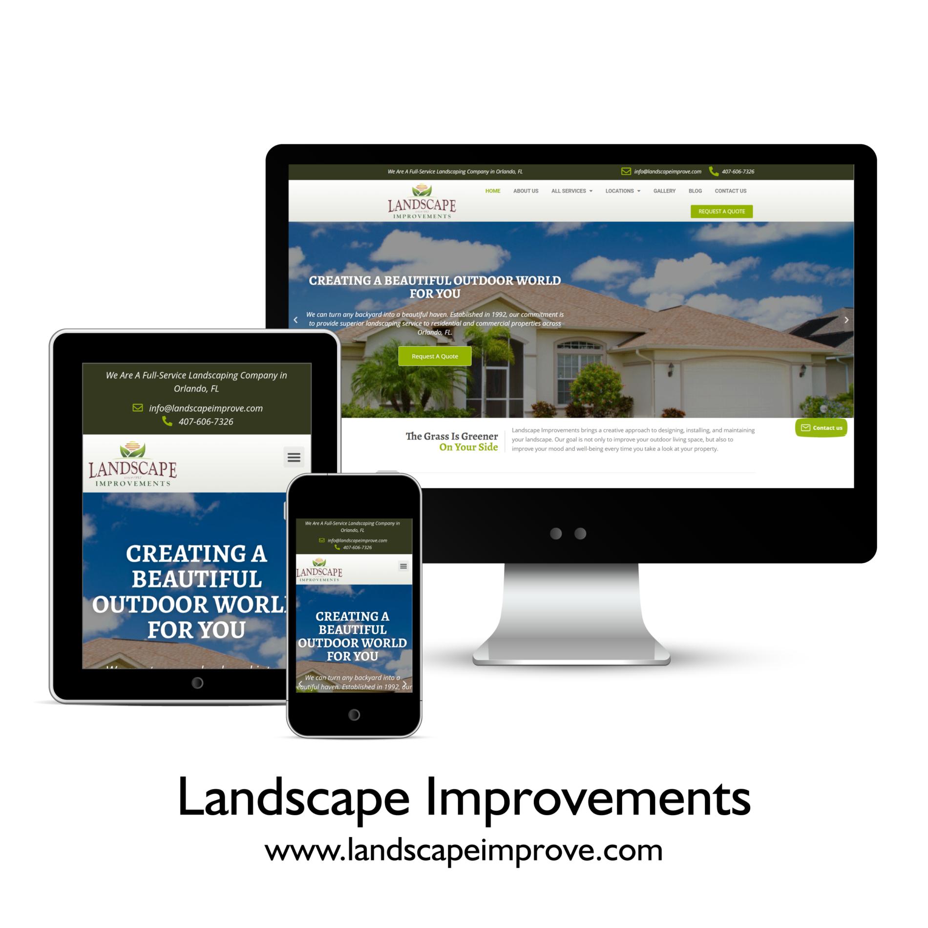Landscape Improvements | Tulumi Digital Marketing