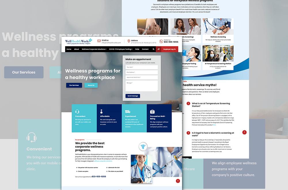 Well Health Works | Tulumi Digital Marketing