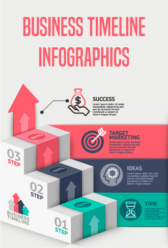 Business-Timeline-Infographics